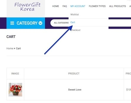 Buying at Flower Gift Korea 2a