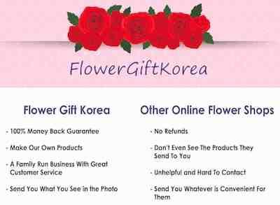 Why FlowerGiftKorea.com
