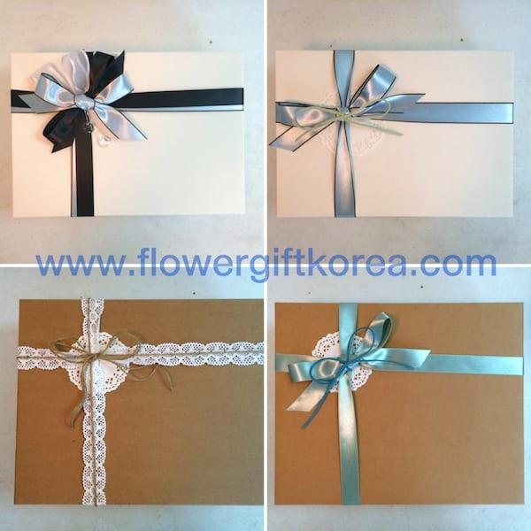 Flower Gift Korea Box Designs for Gift Boxes to Korea