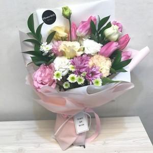 Flower Gift Korea Pink Light Flower Bouquet Main