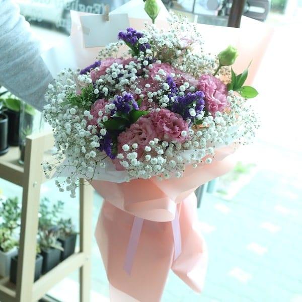 Flower Delivery Seoul Shy Girl Flower Bouquet Korea