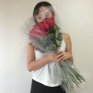 Flower Gift Korea 20 Long Stem Roses (Vase Optional)