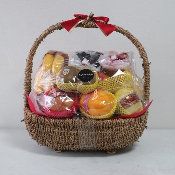Flower And Gift Baskets For Delivery : Fruit basket no delivery fee flower gift korea