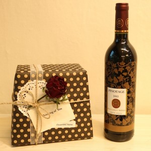Flower Gift Korea Wine Set for Gift