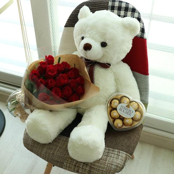 flower-gift-korea-teddy-bear-20-roses-ferror-rocher-heart-chocoaltes-main