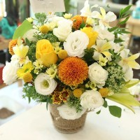 Flower of the Day Basket 1