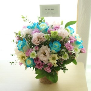 flower-gift-korea-blue-delight-flower-basket-main