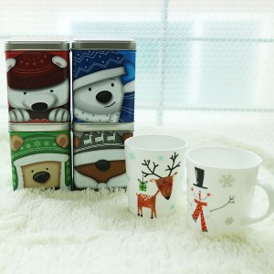 flower gift korea coffee mug gift set