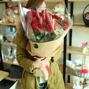 Flower Shop Seoul Long Stem Roses Best Quality Main