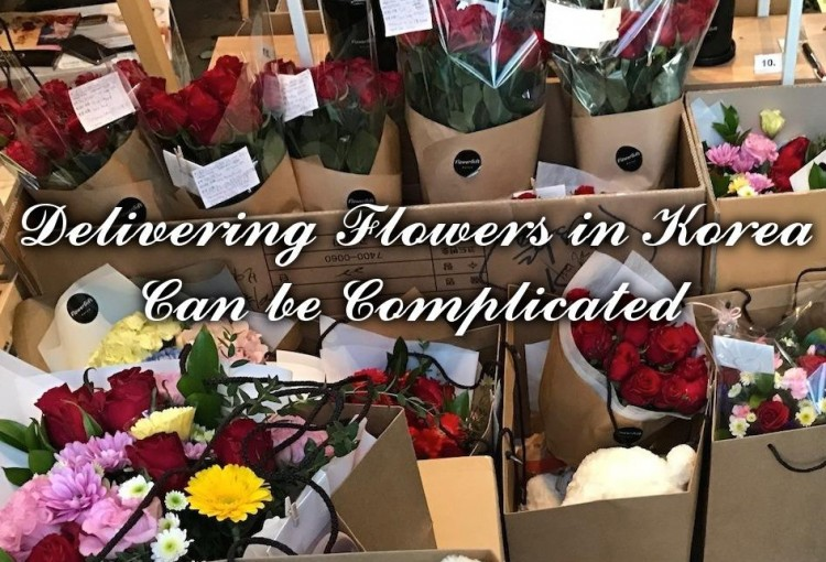 Delivering Flowers and GIfts in Korea and tips