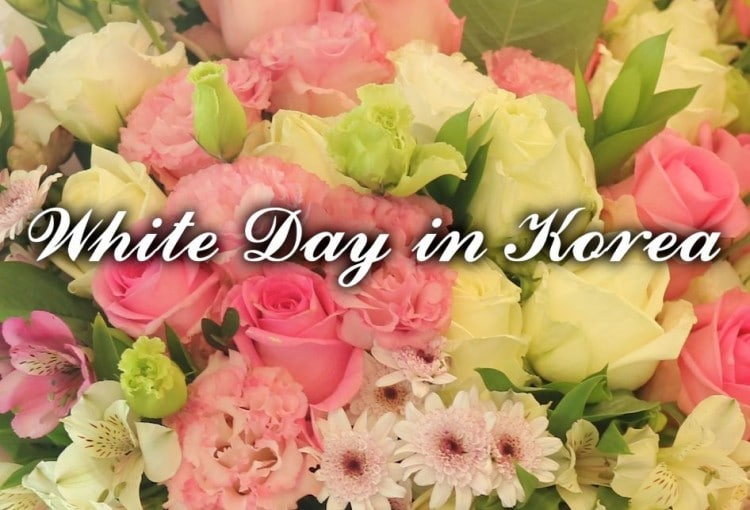 White Day in Seoul Korea and Sending Gifts