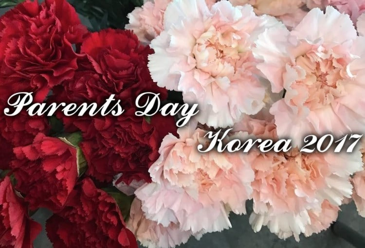 Flower Delivery for Parents Day in Korea 2017