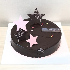 Flower Gift Korea Chocolate Cake Medium 40