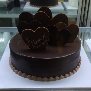 Flower Gift Korea Chocolate Cake Small 30