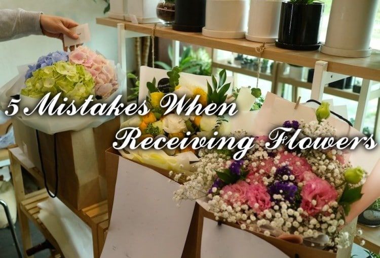 5 Mistakes People Make When Receiving Flowers from Flower Gift Korea