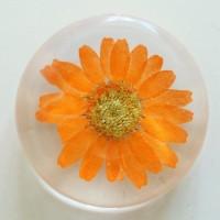 Flower GIft Korea Flower Art Magnet Orange