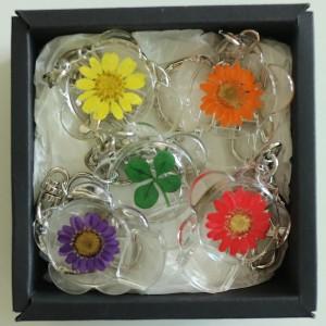 Flower Gift Korea Flower Whistle Key Chain Set