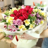 Flower and Gift Korea Rose Center Bouquet