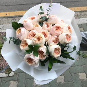 Garden Rose Bouquet Korea Delivery Main