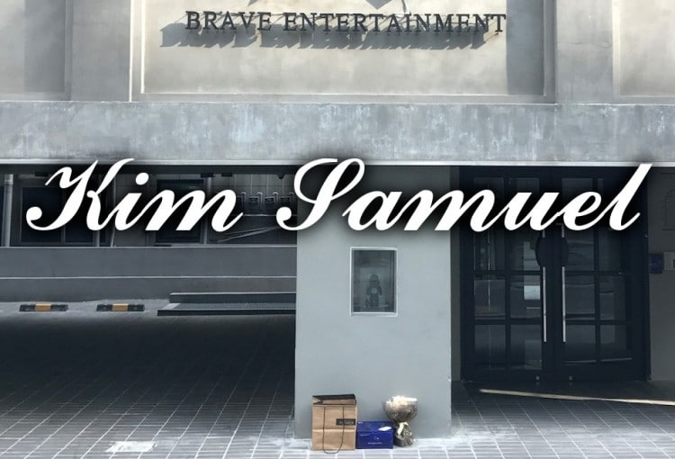 Gifts Delivery to Kim Samuel from Brave Entertainment