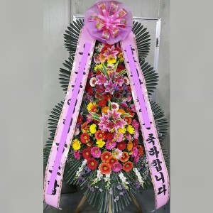 Korean 3 Level Flower Spray Design 110 F