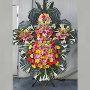 Korean 5 Level Flower Spray Design 220