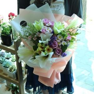 Lily Rose Bouquet Flower Shop Seoul