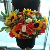 Sunflower Fire Basket Seoul South Korea