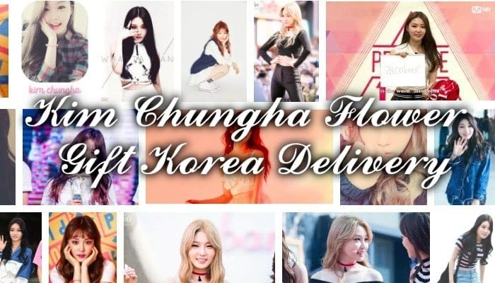 Flower Gift Korea Delivery to Kim Chungha