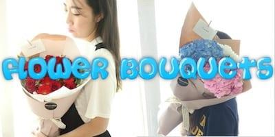 Flower Gift Korea Hand Held Bouquet Delivery