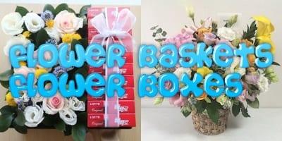Flower shop Korea Baskets and Boxes