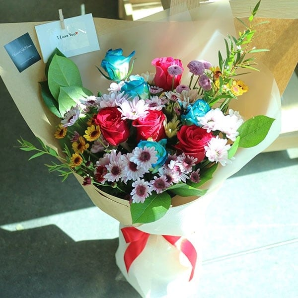 Dreamy Eyes Flower Bouquet - Flower Gift Korea - 350+ 5 Star Reviews ...