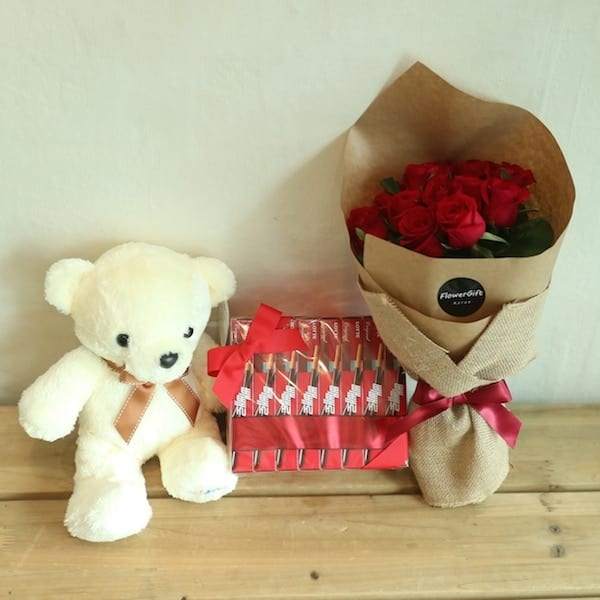 Flower Delivery Korea Pepero Love Set
