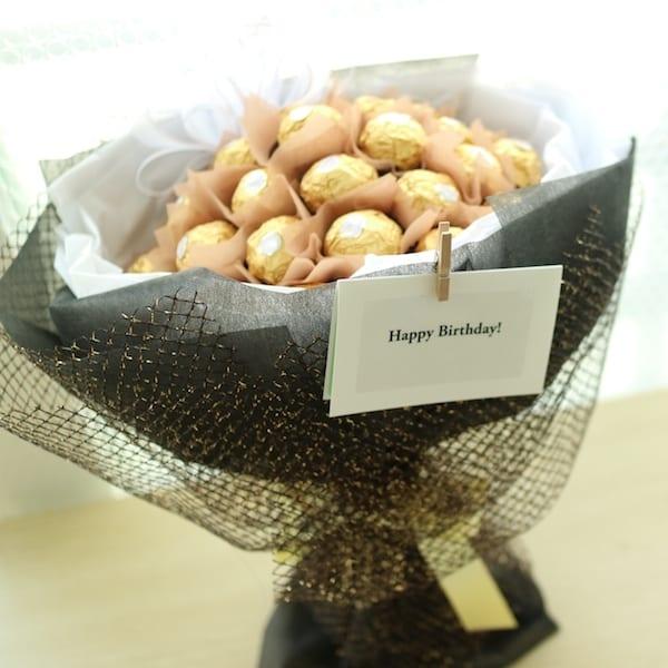 Chocolate Bouquet A - Flower Gift Korea - 330+ 5 Star Reviews, Same ...