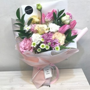 Flower Gift Korea Pink Light Flower Bouquet Main