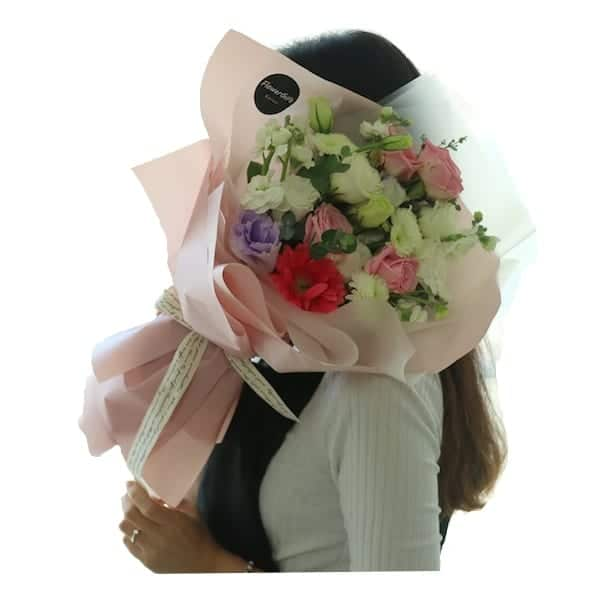 Flower Gift Korea Flower Bouquet of The Day to South Korea