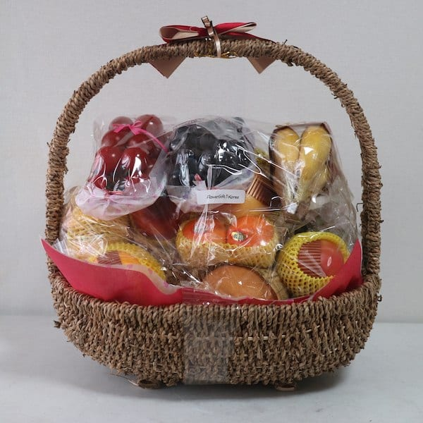 Fruit basket no delivery fee flower gift korea 330 5 star zoom images negle Image collections