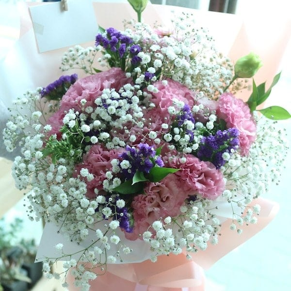 Shy Girl Flower Bouquet - Flower Gift Korea - 330+ 5 Star Reviews ...