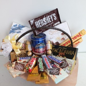 Flower Gift Korea Premium Chocolate Basket