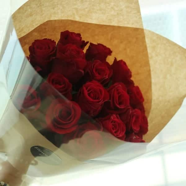 rose bouquet (12 or 20) - flower gift korea - 330+ 5 star reviews