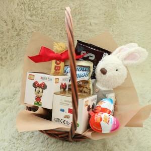 Flower Gift Korea Gift Basket
