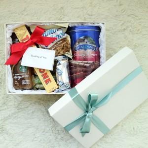 Flower Gift Korea Coffee Snack Gift Box