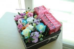 flower-gift-korea-pepero-flower-box