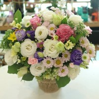 Flower of the Day Basket 2