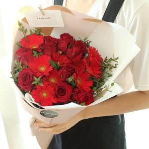 flower-gift-korea-fiery-love-flower-bouquet-1