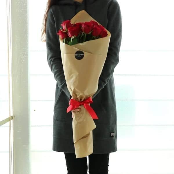 Flower Gift Korea Long stem roses