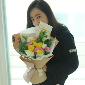 flower-shop-korea-hello-sunshine-flower-bouquet-1