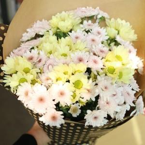 Korea Flower Shop Mixed Chyrsanthemum Bouquet 2