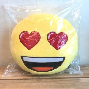 Emoticon Pillow Delivery to Korea and Message
