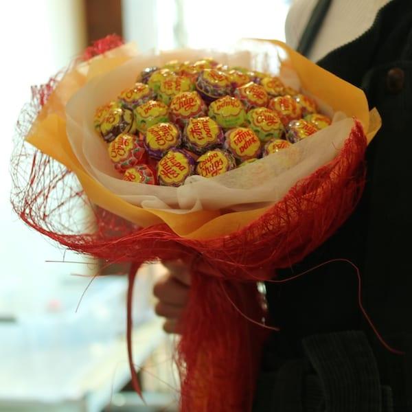 Candy Bouquet A - Flower Gift Korea - 330+ 5 Star Reviews, Same Day ...